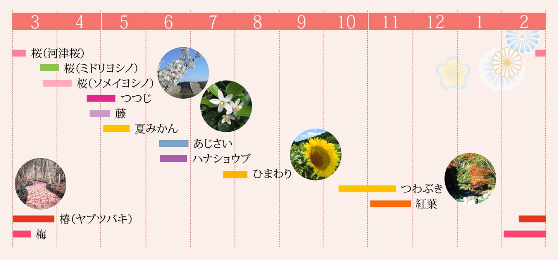 花ごよみカレンダー